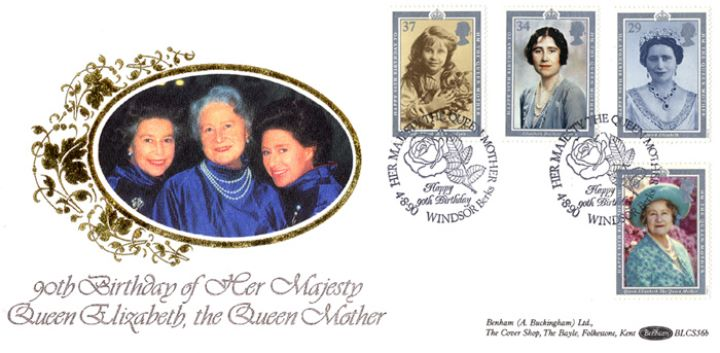 Queen Mother 90th Birthday, The Royal Trinity
