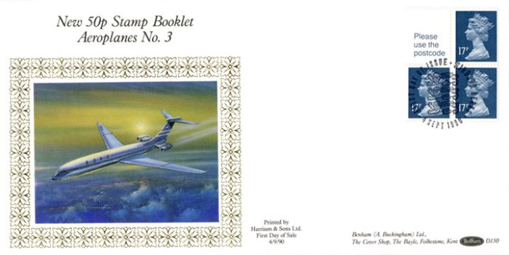 Vending: New Design: 50p Aircraft 3, BOAC
