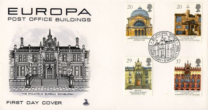 Europa 1990, The Philatelic Bureau