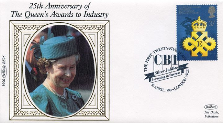 Queen's Awards to Industry, CBI Silver Jubilee