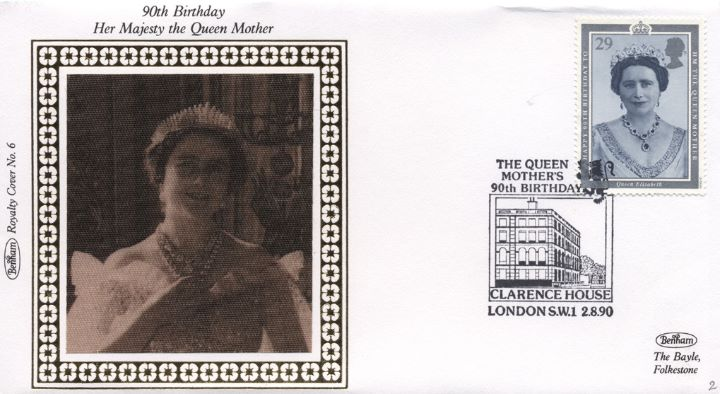 Queen Mother 90th Birthday, Young Queen Mother