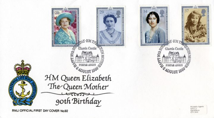 Queen Mother 90th Birthday, RNLI Official