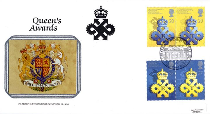 Queen's Awards to Industry, The Royal Arms