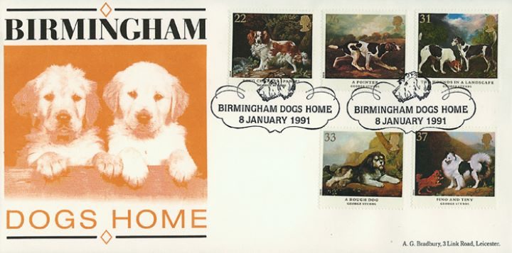 Dogs: Paintings by Stubbs, Birmingham Dogs Home