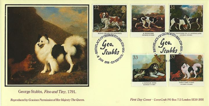 Dogs: Paintings by Stubbs, Fino & Tiny