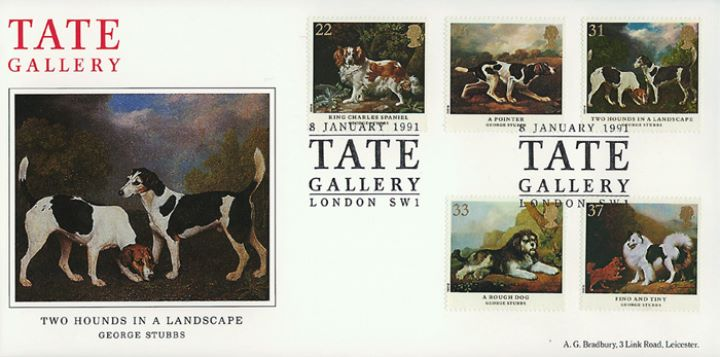 Dogs: Paintings by Stubbs, Tate Gallery