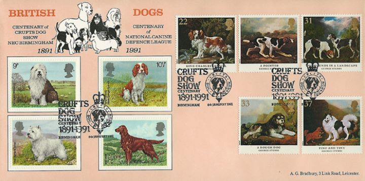 Dogs: Paintings by Stubbs, Crufts Dog Show