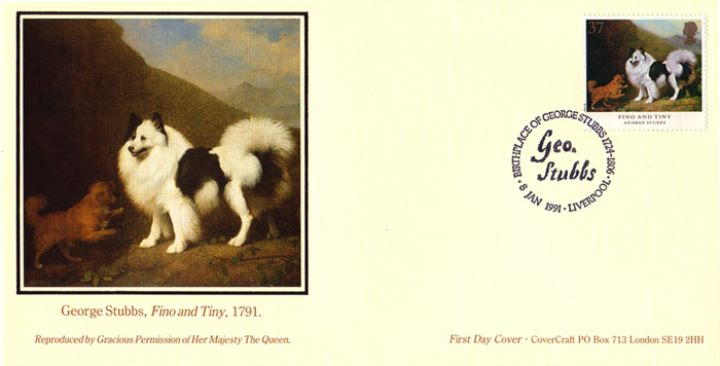 Dogs: Paintings by Stubbs, Fino and Tiny by George Stubbs