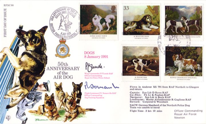 Dogs: Paintings by Stubbs, 50th Anniversary of the Air Dog