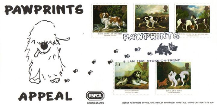 Dogs: Paintings by Stubbs, Pawprints RSPCA Appeal