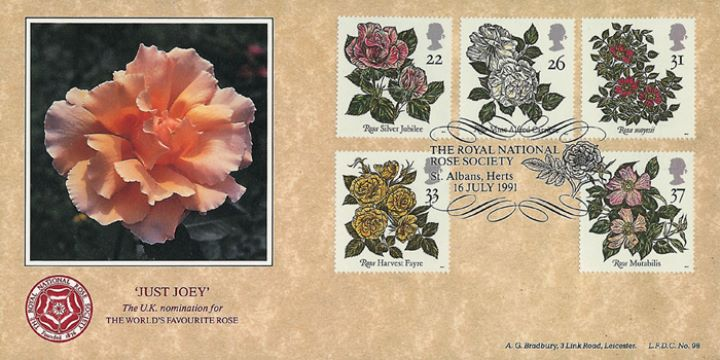Roses 1991, Royal National Rose Society