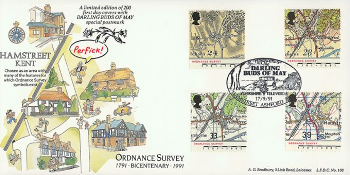Maps - Ordnance Survey, Darling Buds of May