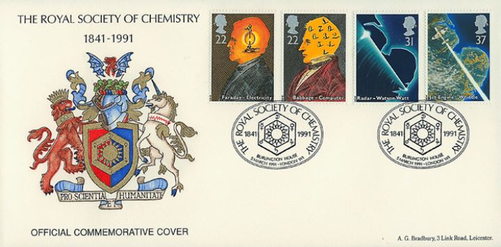 Scientific Achievements, Royal Society of Chemistry