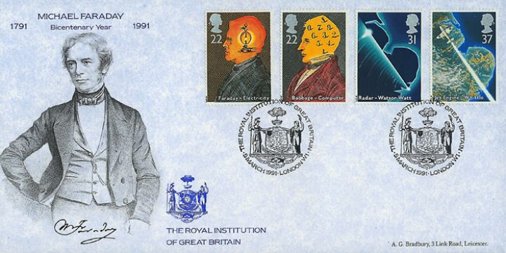 Scientific Achievements, The Royal Institution of GB