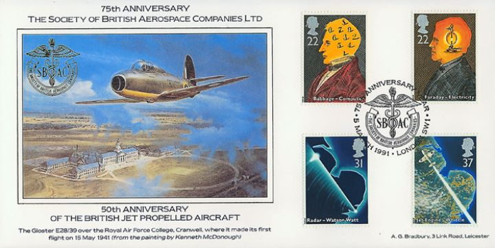 Scientific Achievements, Soc. of British Aerospace Companies