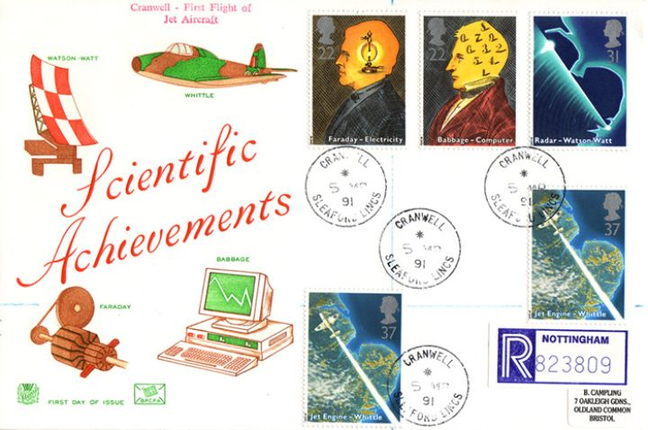 Scientific Achievements, Radar, Jet, Computer and Generator
