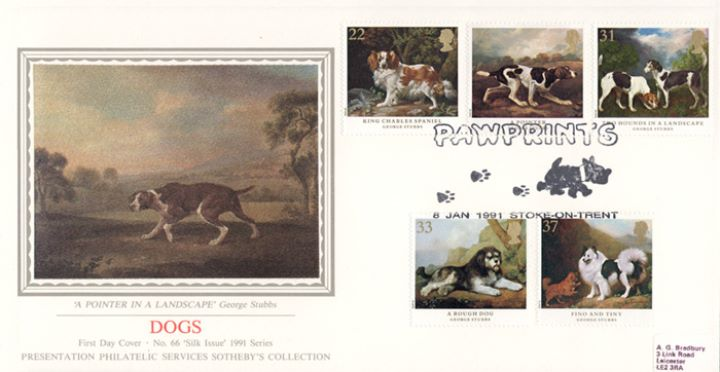 Dogs: Paintings by Stubbs, A Pointer in a Landscape