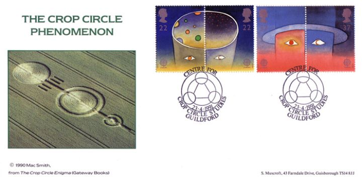 Europe in Space, The Crop Circle Phenomenon