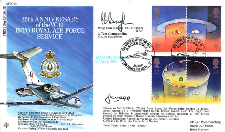 Europe in Space, 25th Anniversary of the VC10