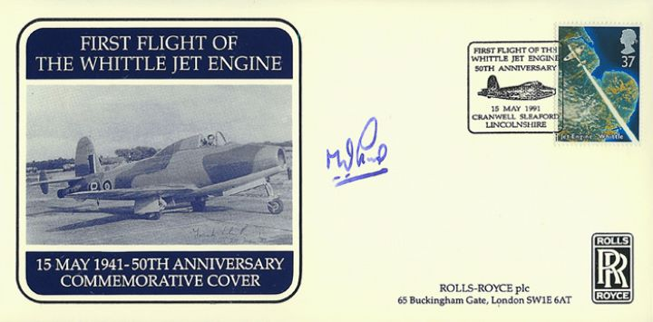 Jet Engine, 50th Anniv. of Jet Engine