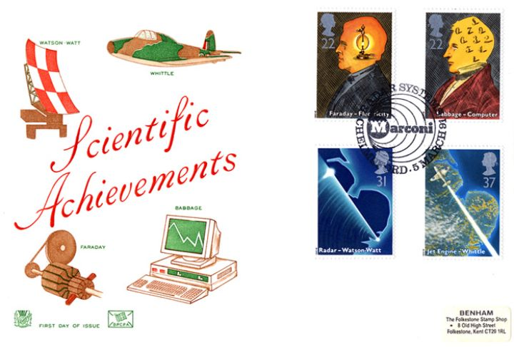 Scientific Achievements, Watson-Watt, Whittle, Faraday, Babbage