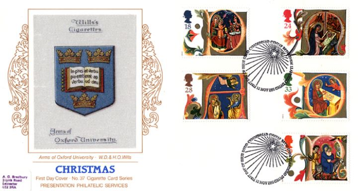 Christmas 1991, Arms of Oxford University