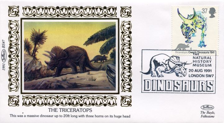 Dinosaurs, The Triceratops