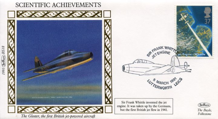 Scientific Achievements, The Gloster jet-powered aircraft