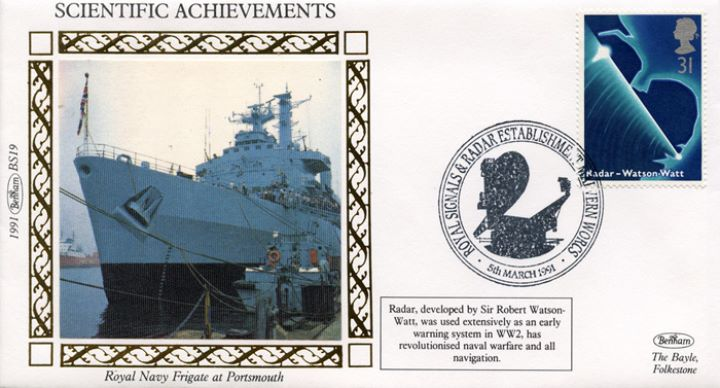 Scientific Achievements, Royal Navy Frigate