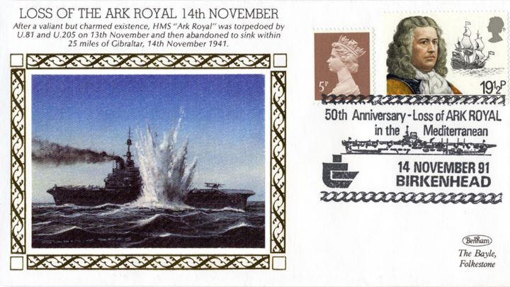 Loss of The Ark Royal, Ark Royal Torpedoed