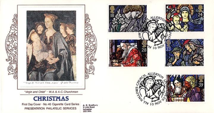 Christmas 1992, Virgin & Child