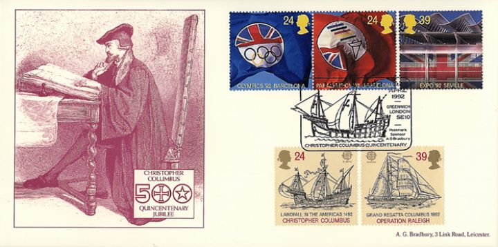 Europa 1992, Christopher Columbus