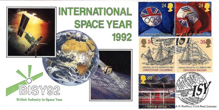 Europa 1992, International Space Year