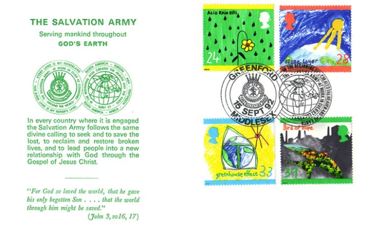 Green Issue, The Salvation Army - God's Earth