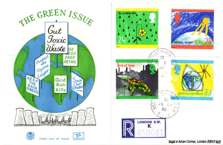 Green Issue, Cut Toxic Waste