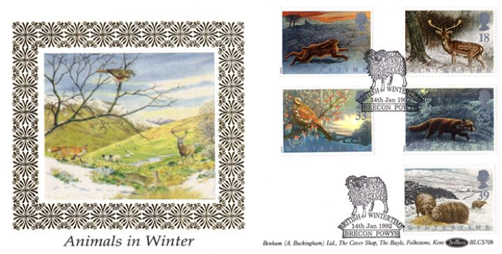 4 Seasons: Winter, Animals in Winter