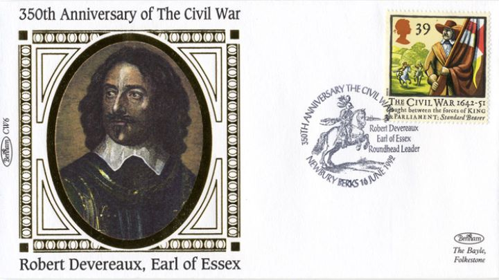 English Civil War, Robert Devereaux, Earl of Essex
