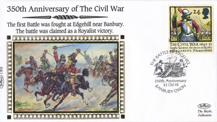English Civil War, The Battle of Edgehill
