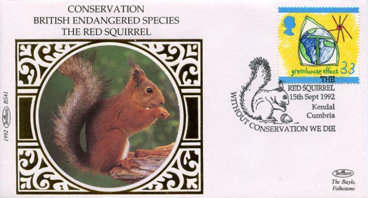 Green Issue, The Red Squirrel