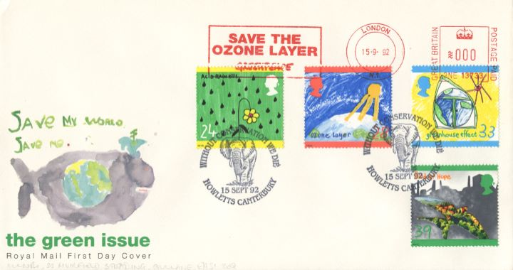 Green Issue, Save the Ozone Layer