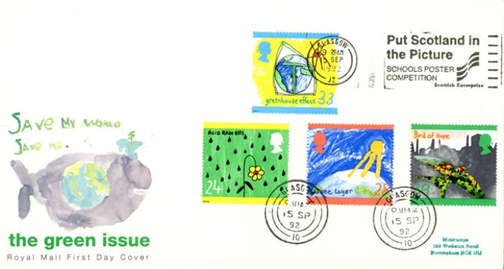 Green Issue, Slogan Postmarks