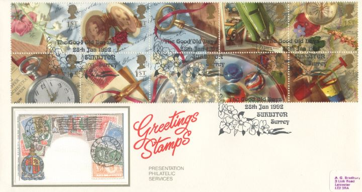 Memories (Greetings), Foreign Stamps
