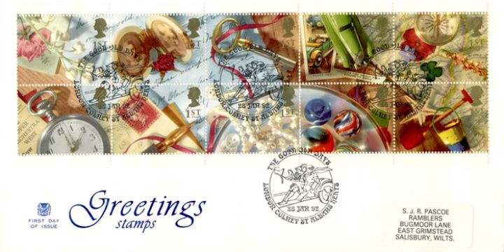 Memories (Greetings), Greetings Stamps