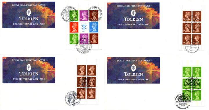 PSB: Tolkien Centenary, Tolkien Emblem - Sets of Four
