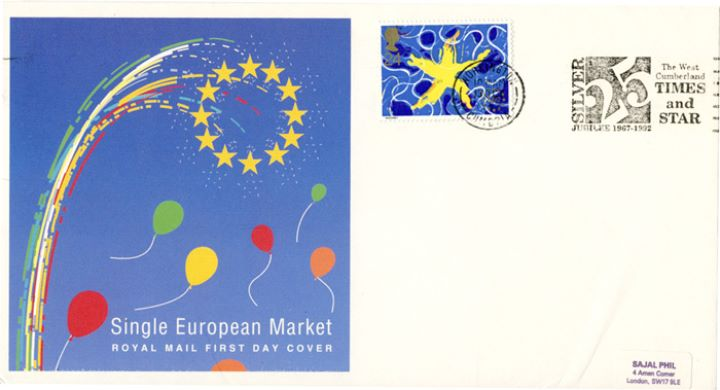 Single European Market, Slogan Postmarks