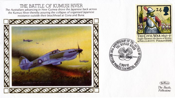 The Battle of Kumusi River, The Australians Advancing in New Guinea