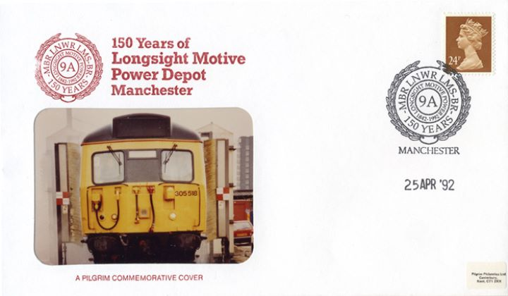 Longsight Motive Power Depot, 150th Anniversary