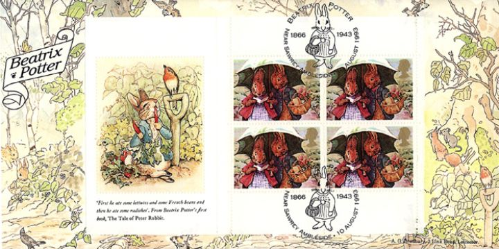 PSB: Beatrix Potter - Pane 1, Peter Rabbit