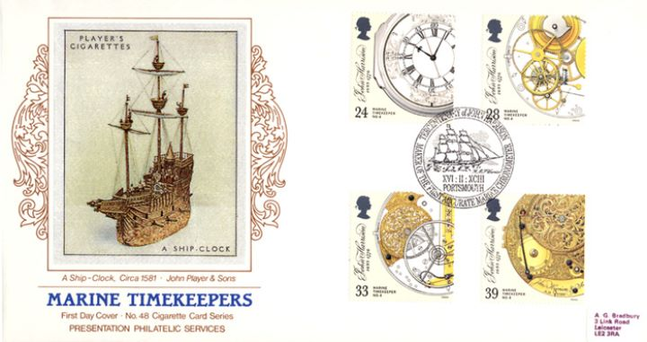 Maritime Clocks, A Ship Clock