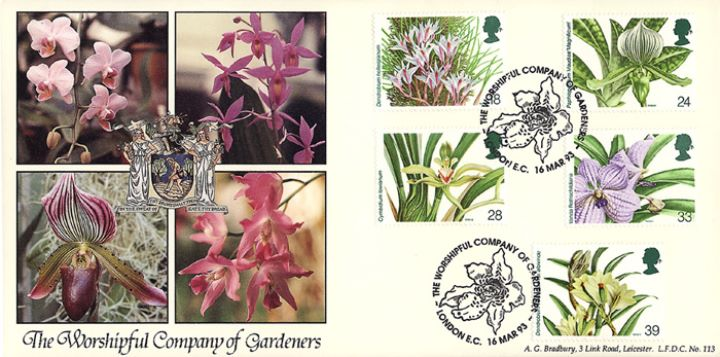 Orchid Conference, Worshipful Company of Gardeners